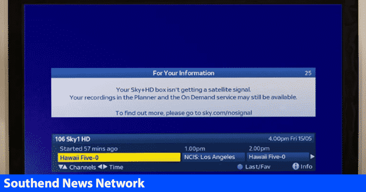 Your Sky Hd Box Isn T Getting A Satellite Signal >> Sky Tv Viewers In Essex Warned To Move Their Dish Or Lose
