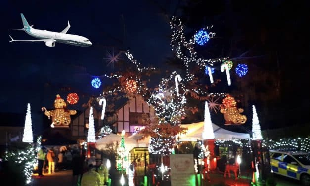 Jet almost lands in Hockley by accident after pilot distracted by Xmas lights display