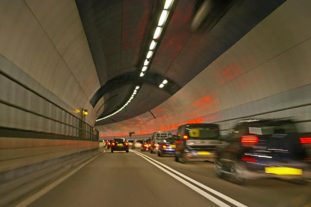 DARTFORD TUNNEL CLOSED after thousands of Kent residents attempt to enter Essex illegally