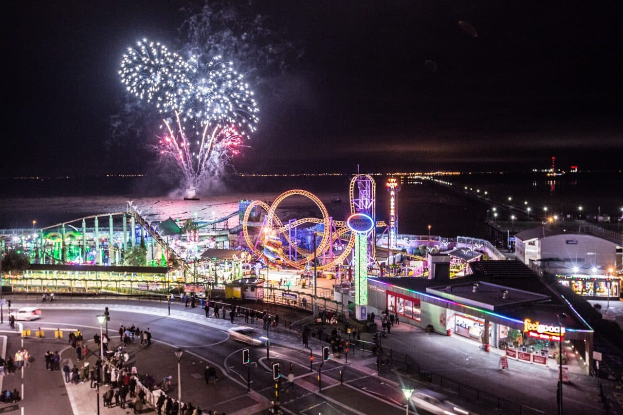 SOUTHEND SEAFRONT FIREWORKS: A reminder that taking photos is not permitted tonight