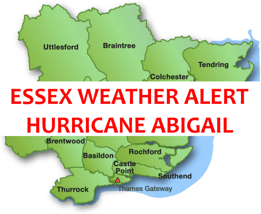 HURRICANE ABIGAIL: What YOU need to do as Essex is placed on HIGH ALERT