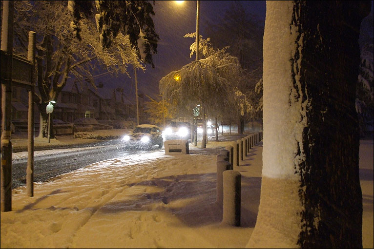 SNOW – LIVE UPDATES on the snowfall in South Essex