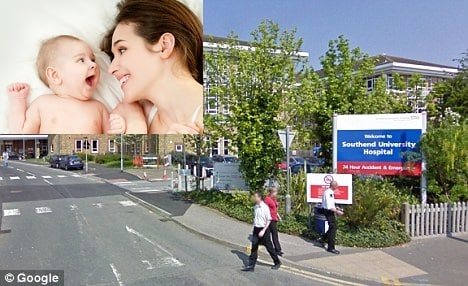 Mum MISSES BIRTH OF HER OWN BABY after row with hospital parking officer