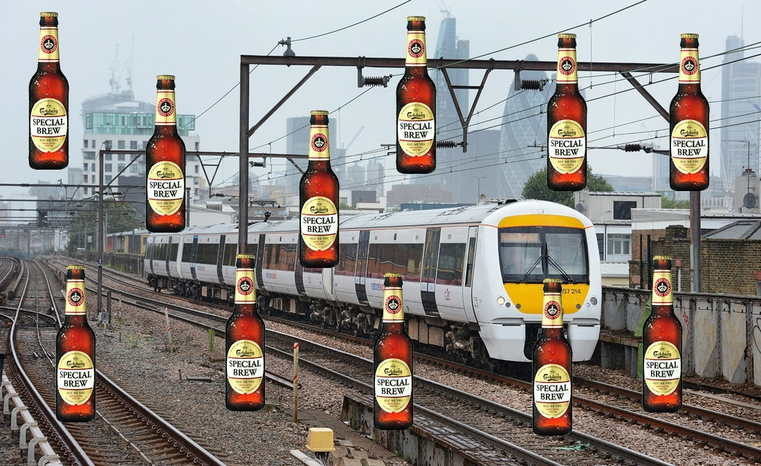 Delays on c2c line this morning due to HUNGOVER TRAINS
