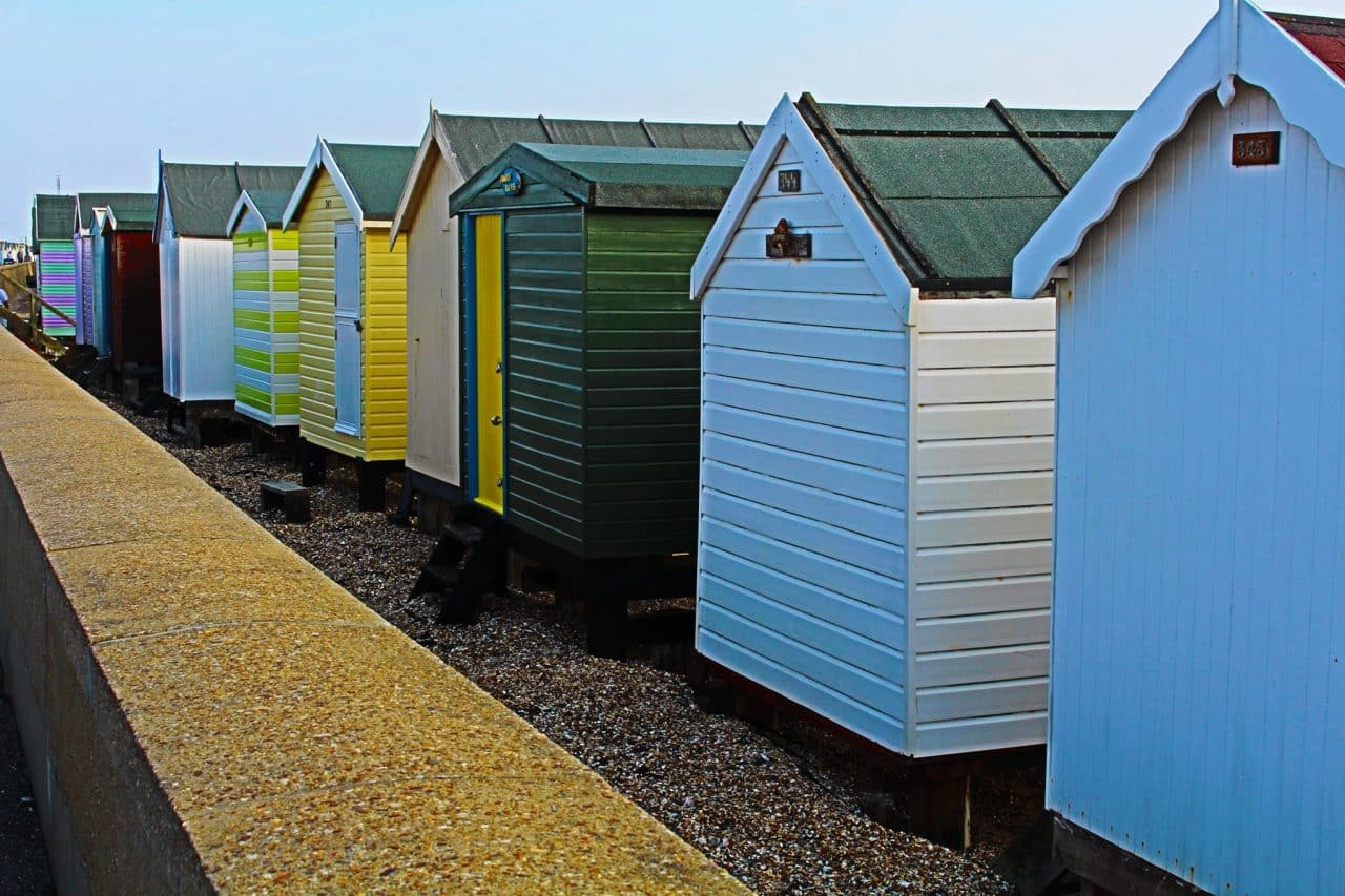 LOCAL ANGER as disused Southend beach huts are prepared for Syrian refugees