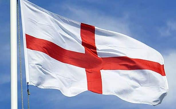 England flags now officially racist again