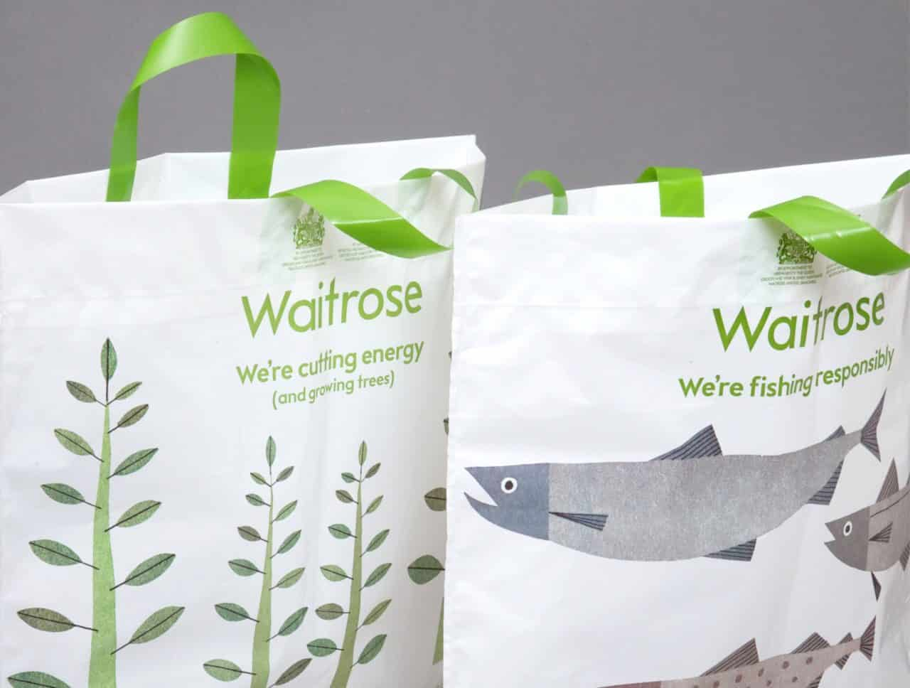 Southend Lidl Starts Selling Waitrose Bags To Fight Against