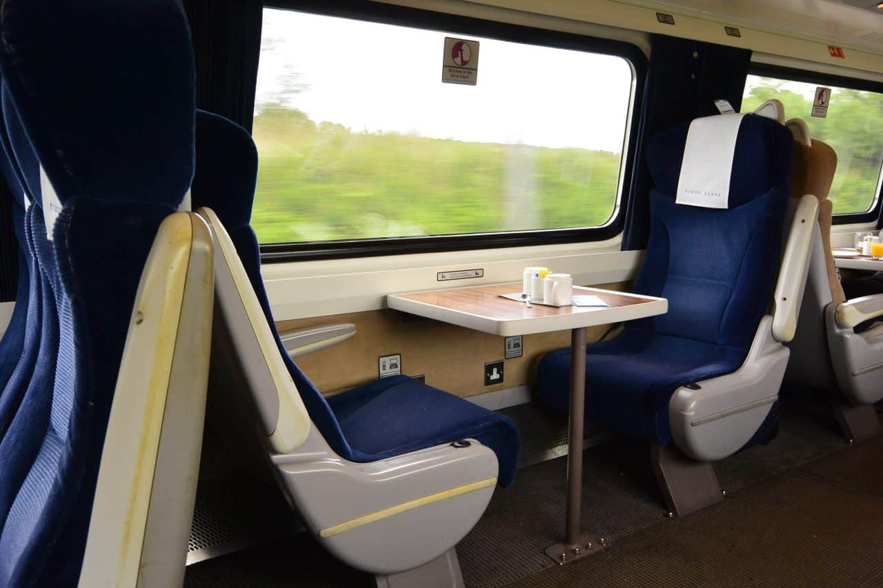 C2C to introduce BUSINESS CLASS carriages on all peak services