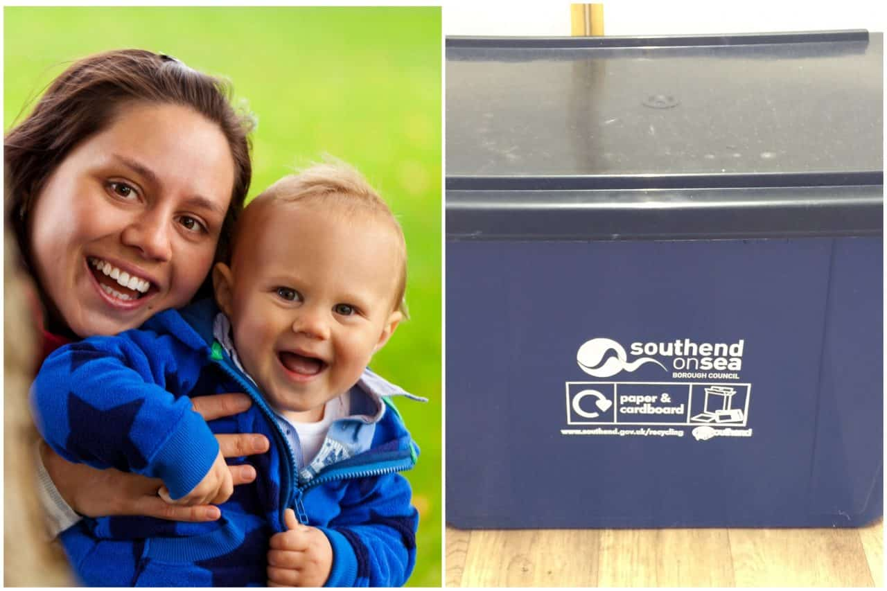MUM'S NIGHTMARE as toddler suffers HORRIFIC INJURY with new paper recycling box