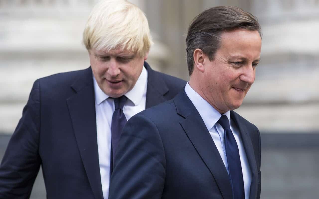 Referendum SCRAPPED as David Cameron and Boris Johnson agree to Brexit Mud Wrestling bout