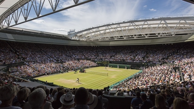 Rain forces all WIMBLEDON 2016 matches to be reduced to a SINGLE SET