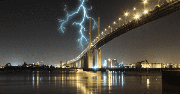DARTFORD CROSSING could be CLOSED FOR WEEKS after lightning strikes bridge
