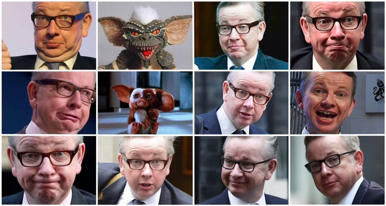 Gove WITHDRAWS from BREXIT government after Boris gets him wet and feeds him after midnight