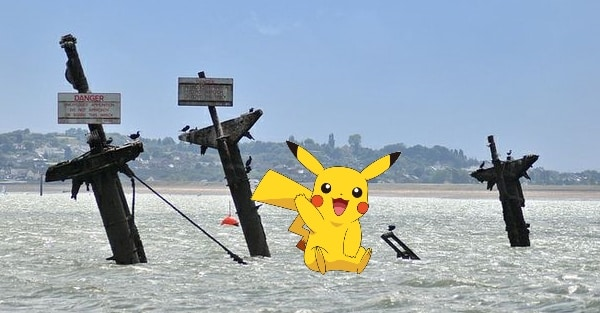 WARNING after POKEMON GO characters spotted at DEADLY SS MONTGOMERY WRECK