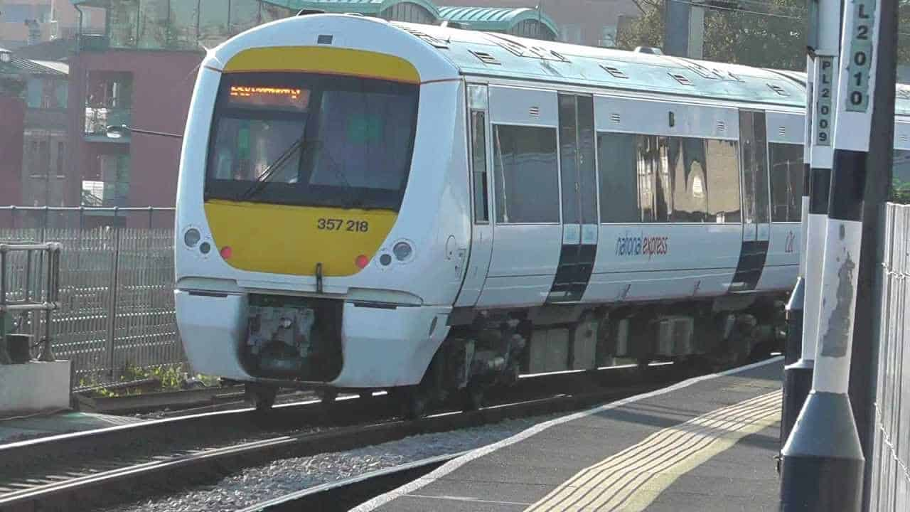 C2C SUSPENDED after train stolen from Basildon station