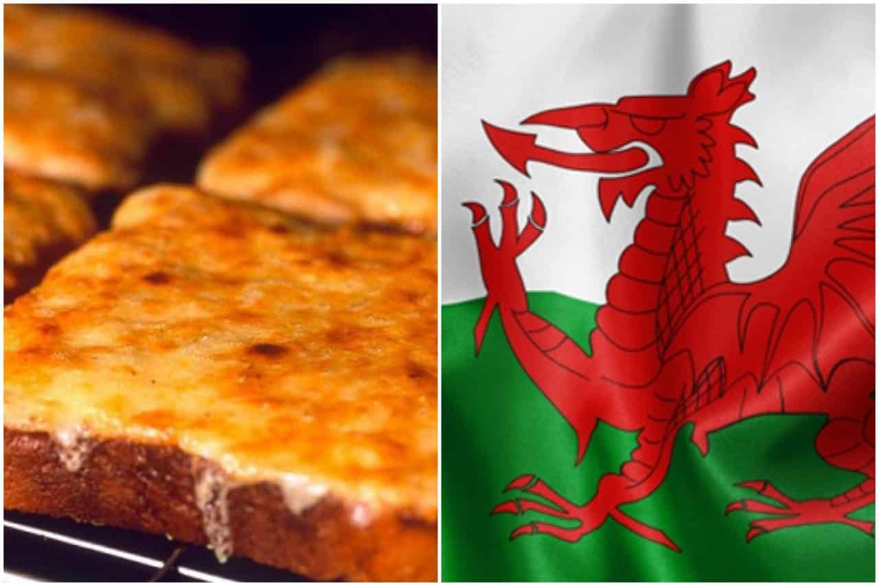 Man declares WELSH heritage by making CHEESE ON TOAST