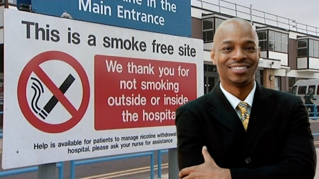 Man threatens legal action over 'RACIST SIGN' at Suffolk hospital