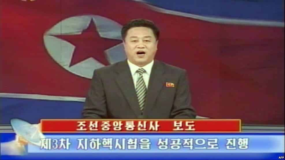 North Korea confirms that 'earthquake' was BAD CURRY and not NUCLEAR TEST