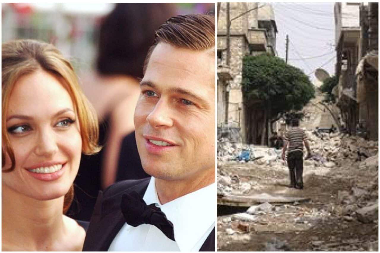 Syrian government, rebels and ISIS agree to minute's silence for BRANGELINA tragedy
