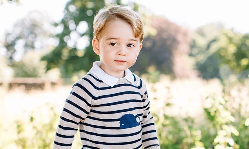 Prince George throws MASSIVE TANTRUM as Queen refuses to re-write anthem in his honour
