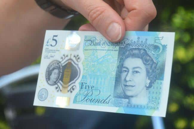 You may be shocked to learn that your new £5 note is worth A FUCKING FIVER