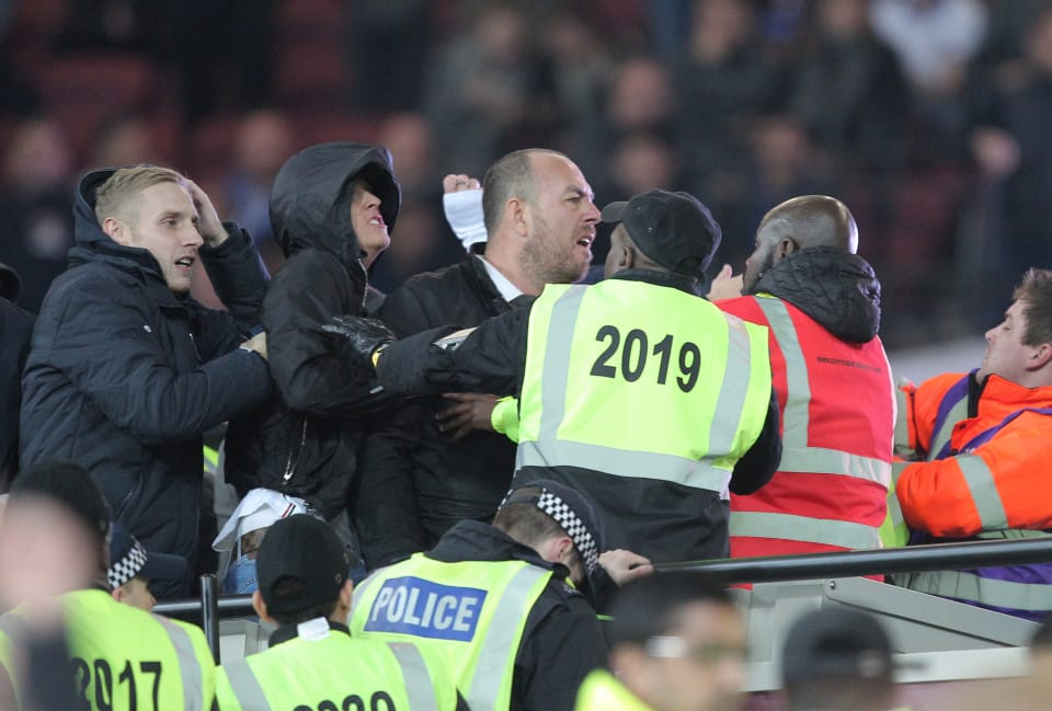 West Ham United EVICTED after crowd violence in Burnley defeat