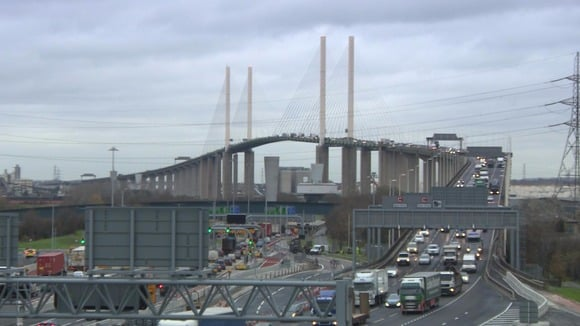 OFFICIAL STATEMENT: Motorist arrested for playing our 'explicit' song at the Dartford Crossing