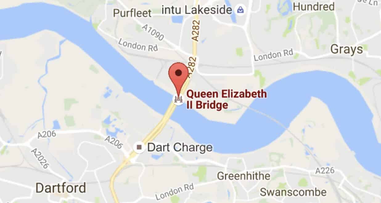 Essex and Kent Police dispute creates LAWLESS ZONE at Dartford Crossing