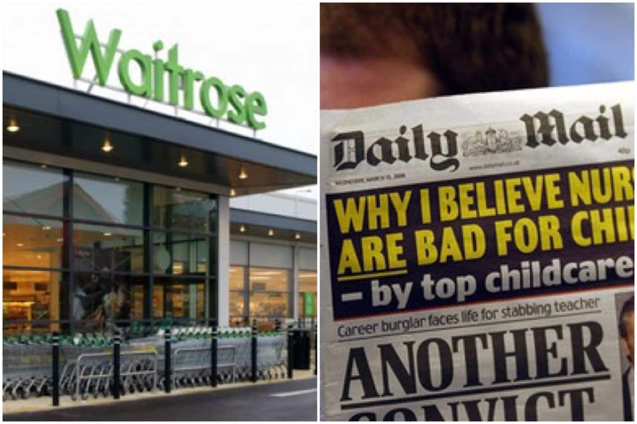 ANGER as supermarket is caught giving out EXTREMIST MATERIAL