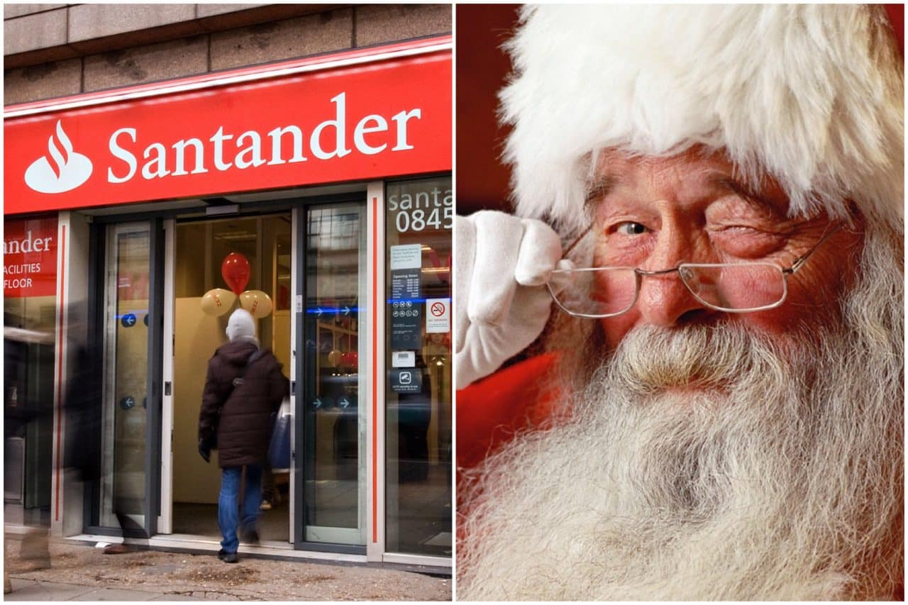 Customers threaten to leave SANTANDER over alleged links to North Pole