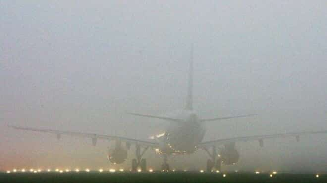 HEAVY FOG forces all Southend flights to divert