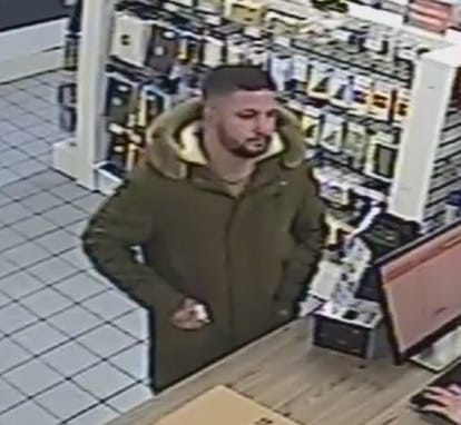Anybody recognise this man who bought a laptop with a dodgy credit card?