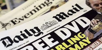 Doctor reveals that Daily Mail ink increases CANCER risk by 500%