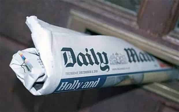 Unbelievably, our petition to get the Daily Mail reclassified as a FAKE NEWS SITE has worked!