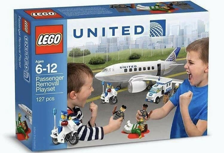 Lego launches United Airlines DISTRESSED PASSENGER PLAYSET