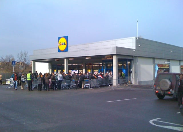 FIVE ARRESTS after 17 injured in Lidl prosecco riot