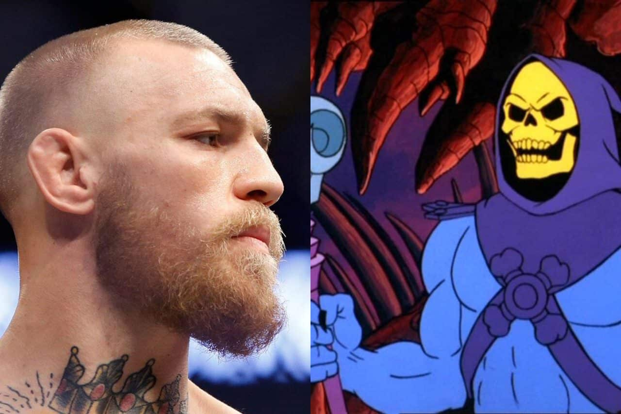 Conor McGregor signs multi-million dollar deal to fight SKELETOR