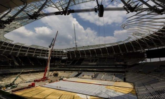 New Spurs stadium opening DELAYED because they are a Mickey Mouse outfit