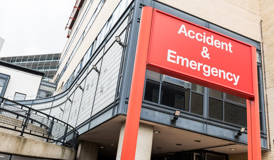 Stop checking in at A&E without an explanation you ATTENTION-SEEKING TWATS