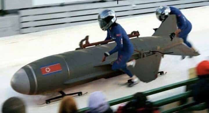 North Korean bobsleigh team qualifies for second round at Winter Olympics