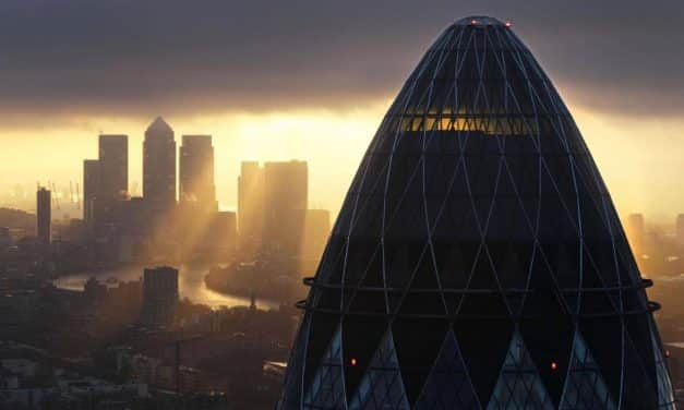ANGER as architect reveals London's Gherkin is based on woman in burka