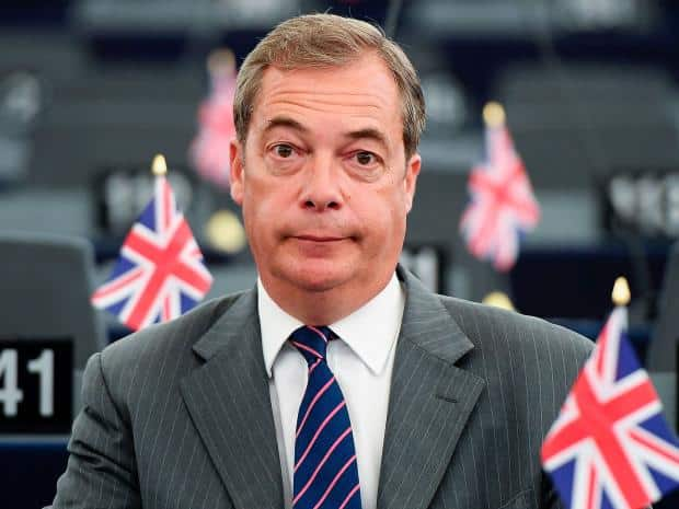 Farage: 'Only let football come home under a sensible points-based system'