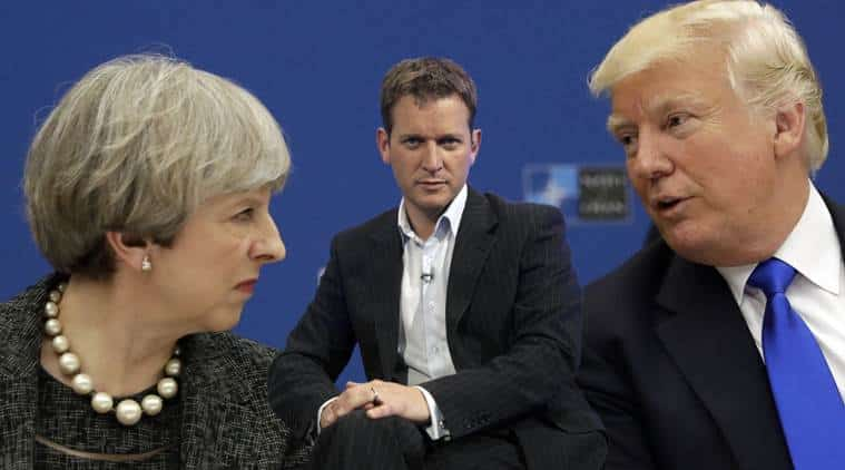 Trump and May appear on The Jeremy Kyle Show to try and repair special relationship